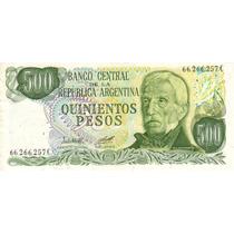 500 Pesos Ley 18.188 Bottero