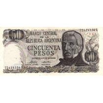 50 Pesos Ley 18.188/69 Bottero