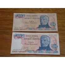 100 Pesos Argentinos..