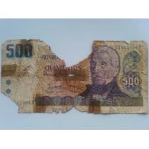 Billete De Quinientos Pesos Argentinos