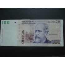 Billete 100 Pesos Roca Doble Sello Variabilidad Optica