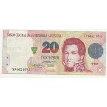 Argentina 20 Pesos Convertibles Mb Bot 3056