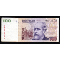 Billete 100 Pesos Convertibles Con Leyenda Bottero 3711 Mb