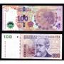 Lote 2 Billetes 100 Pesos Reposición Excelentes Bottero