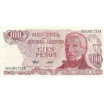 Billete 100 Pesos Ley Reposicion Bottero 2411a Sin Circular