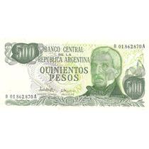 Billete 500 Pesos Ley Reposicion Bottero 2434 Sin Circular