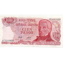 Billetes 100 Pesos Ley 18188 Sin Circular Nuevos