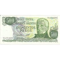 Argentina 500 Pesos Ley Botero 2429 S/c