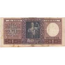 2 Antiguos Billetes Argentinos De 1 Peso (creo De Los 40
