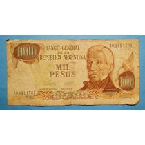 Billete De 1000 Pesos Ley Serie F Circulado