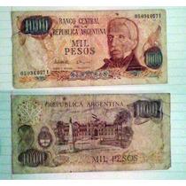 Billete Argentina 1.000 Pesos
