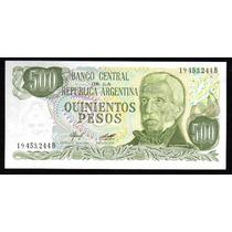 Billete 500 Pesos Ley Bottero 2424a Sin Circular