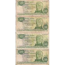 Billete Argentino, 500 Pesos Ley 18.188