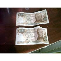 2 Billetes De Mil Pesos Ley Como Nuevos , Correlativos