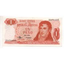 1 Peso Ley 18188 Año 1973 Bottero 2316 Cd 4186
