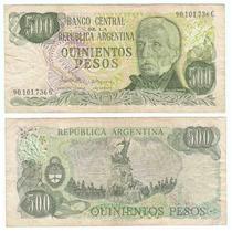 Argentina, Billete De 500 Pesos Ley 18188, Bottero 2432