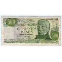 Barese2013 Bottero 2418 Reposicion 500 Pesos Ley