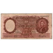 Bottero 2035 100 Pesos Moneda Nacional