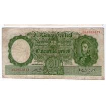 Bottero 1987 50 Pesos Moneda Nacional