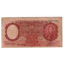 Bottero 2034 100 Pesos Moneda Nacional