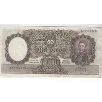 Billete 1000 Pesos M/n Fragata Pardal Delfino Muy Bueno!!!!!