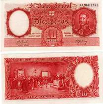 10 Pesos Moneda Nacional Real Alison Garcia Sin Circular