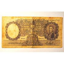 Billete De 1.000 Pesos Antiguo
