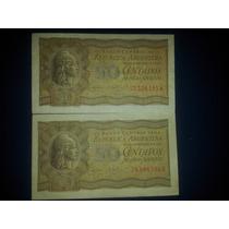50 Centavos Moneda Nacional Ley 12962 Año 1947