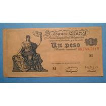 1 Peso Moneda Nacional 1947 Serie M