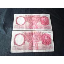 10 Pesos Antiguos De Moneda Nacional.