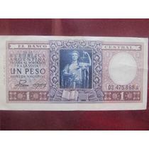 El Arcon Billete Argentino Peso Argentino De 1 Peso 383