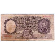 Barese2013 Bottero 2129 Billete 1000 Pesos Moneda Nacional