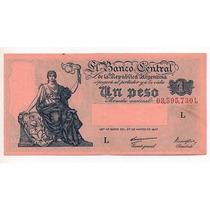 1 Peso M/n Año 1948 Bottero 1835 Cd 4149