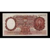 Guardia Imp. Banco Central 100 Pesos 1960 Excelente ++