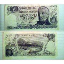 Billete Argentina 50 Pesos