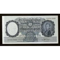 Guardia Imp. Banco Central 500 Pesos M/n 1959 Sin Circular