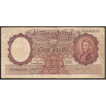 Billete 100 Pesos Moneda Nacional Bottero 2040