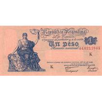 Argentina - Progreso - 1 Peso - Serie K - En Mendoza