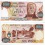 10 Billetes 1.000 Pesos Ley 18.188 Unc - Bot 2453 - Año 1981