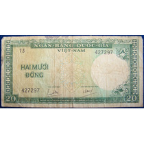 Vietnam Del Sur 20 Dong 1964 *