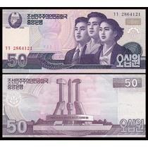 Corea Del Norte, Billete De 50 Won Año 2002 - Pick#60 - Sc
