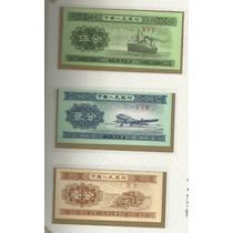 Lote De 10 Billetes De China Entre Los Años 1953 Y 1980