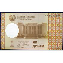 Tajikistan 1 Diram 1999 * Sin Circular * 1 Billete *