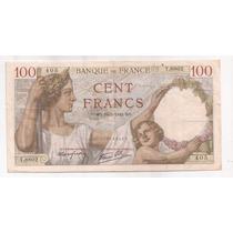 Francia Billete De 100 Francos Año 1940 Pick 94 !!