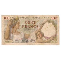 Francia Billete De 100 Francos Año 1939