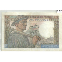 Francia 10 Francos P99b 1943 Uf+