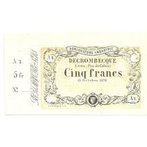 Francia 5 Francos Privado 1820