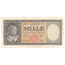 Italia, 1000 Lire, 1959. P#88c. F++ / Vf-