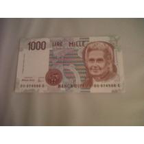 Billete De 1000 Liras Italianas