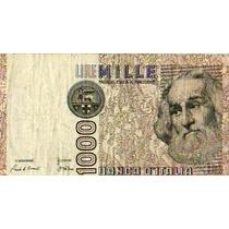 Italia 1000 Liras 1982 Circulado Impecable Liquido